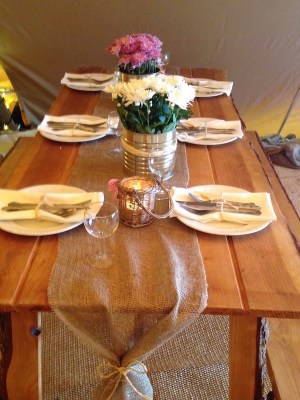 Rustic Vintage Table