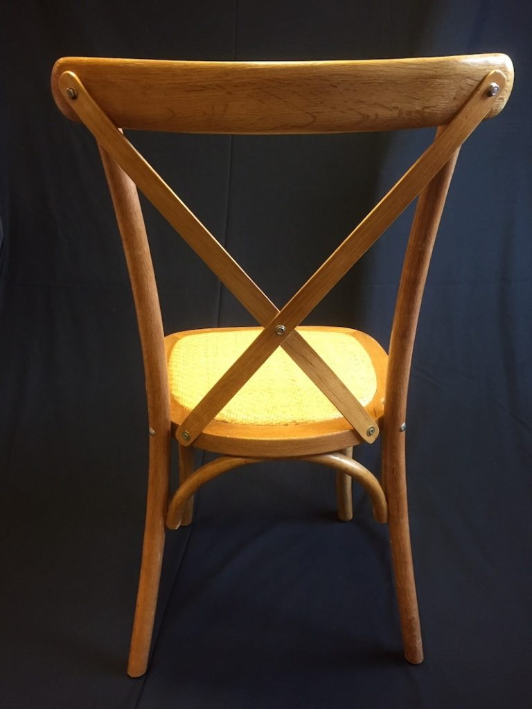 cross back chair hire 3