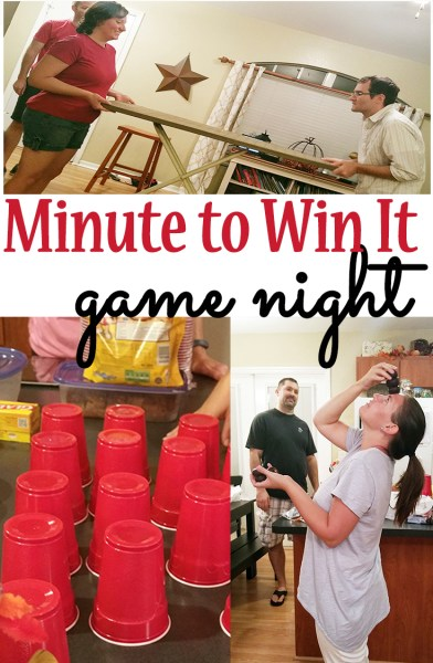 Minute to Win It Game Night