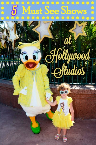 5 MUST SEE Shows at Hollywood Studios