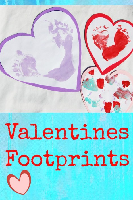 Valentines Footprints