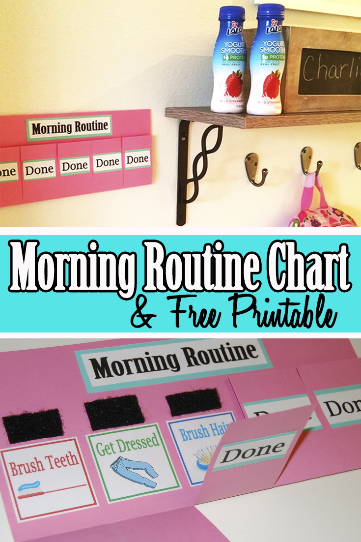 Morning Routine Chart and Free Printable