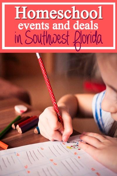 Homeschool Days and Field Trip Ideas in Southwest Florida