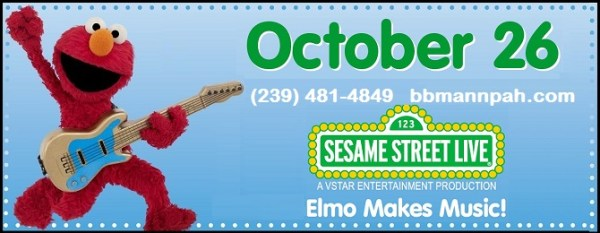 Elmo Makes Music LIVE on October 26th and ticket giveaway!