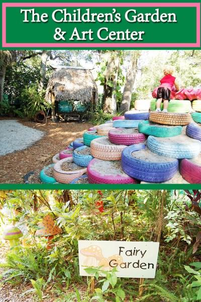 The Children's Garden & Art Center Weekly Events
