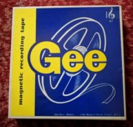 GEE tape reel box