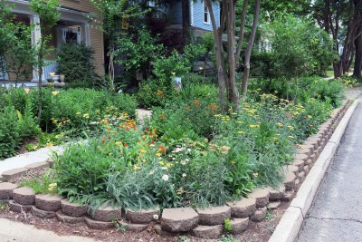 Boylan Heights Sidewalk Garden