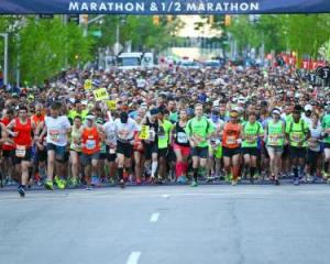 Rock 'n' Roll Raleigh Marathon and Half Marathon @ Marathon Route and Raleigh Convention Center