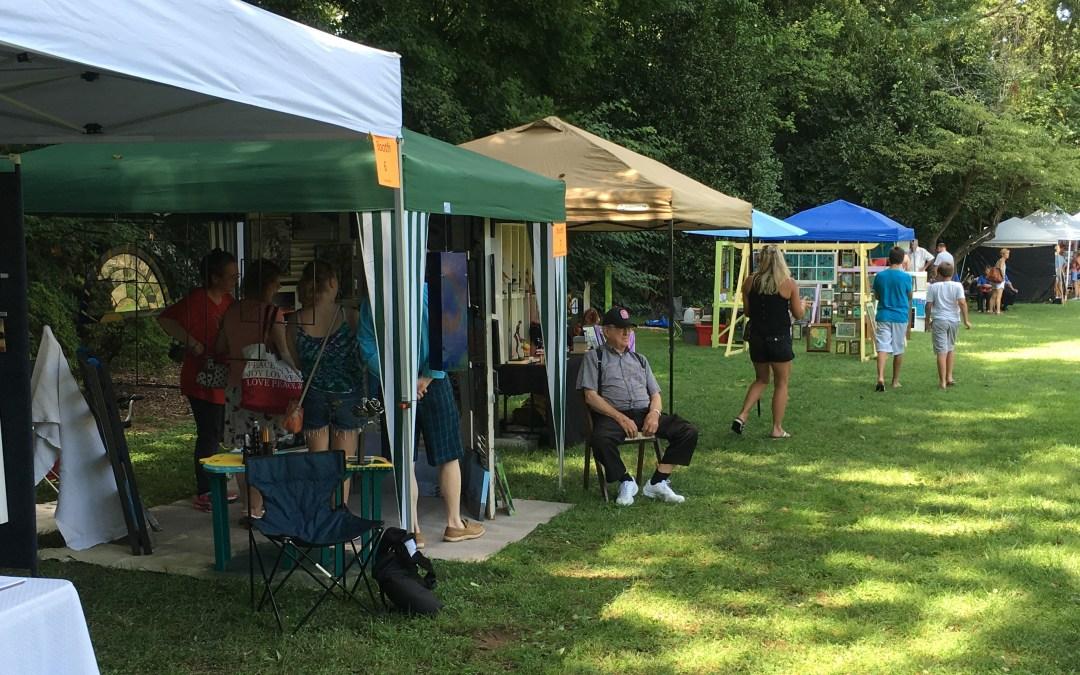 Raleigh Little Theatre: Art in the Garden