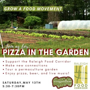 Pizza in the Garden @ Well Fed Community Garden | Raleigh | North Carolina | United States