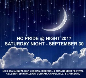 NC Pride @ Night 2017 @ Harrington Street | Raleigh | North Carolina | United States