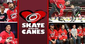 Skate with the Canes @ PNC Arena | Raleigh | North Carolina | United States