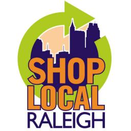shop local Raleigh logo