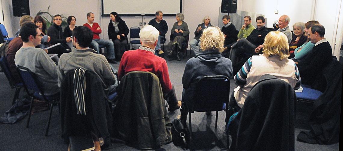 Southwest Scriptwriters meeting, Waterside 2, Watershed, 31 January 2012