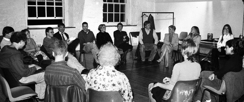 Southwest Scriptwriters meeting, Cooper's Loft, Bristol Old Vic, 30 September 1997