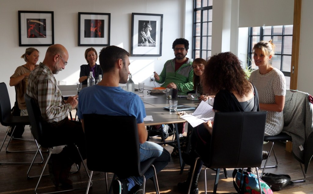 Script Writing with Mark Breckon at the HOURS gallery/event space