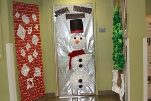 """Mrs. Elaina Nelson's door won for """"Most Creative"""" for this year's contest.<br/>Photo Credit: Kristine Faccinto"""