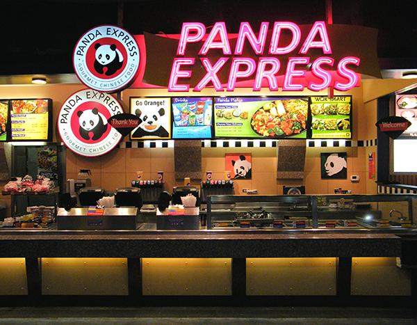 """Panda Express is one of the largest American Chinese fast food chains that is popular for their Mandarin and Szechuan cuisine. Their menu ranges from healthy choices such as the shiitake kale chicken breast to the classics such as orange chicken. """"Whenever I'm craving Chinese food, I go to Panda Express because it's inexpensive, fast, and they serve great food,"""" Aundie Soriano ('15) said. Photo Courtesy of Coolcaesar via Wikipedia"""