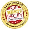 Best philanthropic business award by City Magazine
