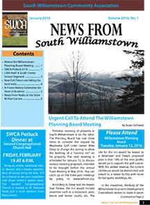 SWCA Newsletter – January 2016