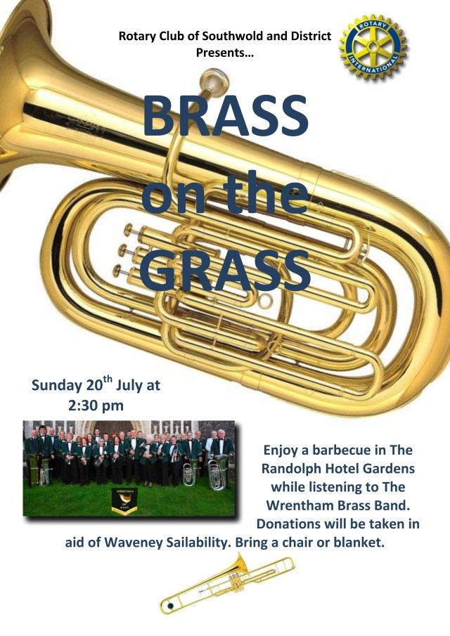 Brass on the grass poster