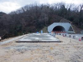 宋徳建設 建築工事 鳥取豊岡宮津自動車道 第12電気室新築工事