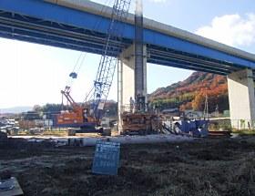 大手川河川整備・312号道路新設工事