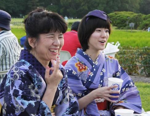 dressed up in beautiful yukatas souvenir