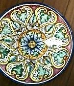 g ceramics plate florence 4