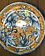 g ceramics plate florence 7