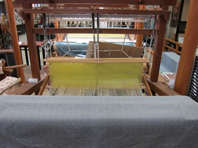 looms Nishijin Textile Center