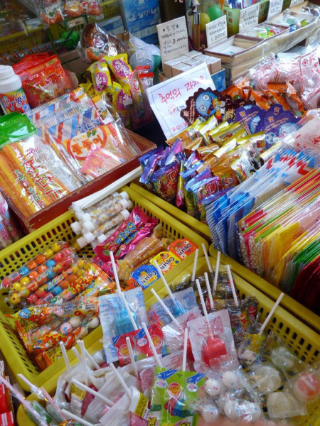 Korean candy. Insadong / http://creativecommons.org/licenses/by/2.0/