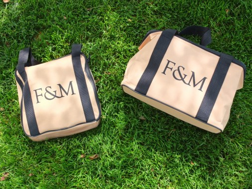 Picnic set from Fortnum & Mason.