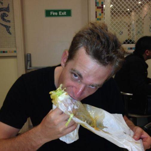rob stop having a boring life eating kebab dublin ireland tbex