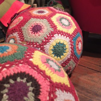 souvenir shopping Dublin Avoca knit balls