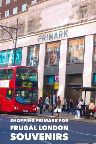Frugal Shopping For Souvenirs At Primark