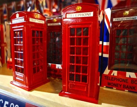 telephone box bank toy car toy mini cooper london unique gift souvenir