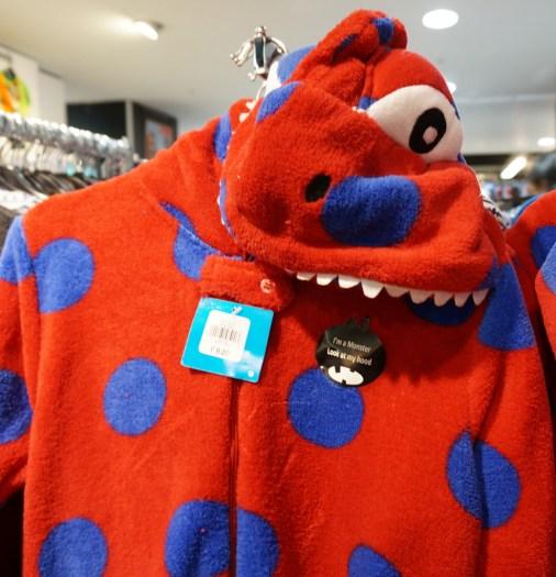 primark onesies london gift monster