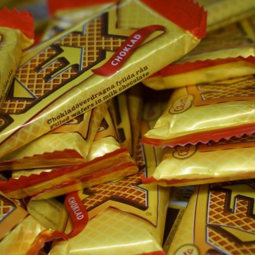 Kex Swedish candy bar