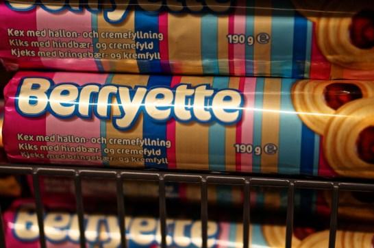 Berryette Swedish candy souvenir