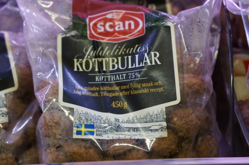 swedish meatballs, frozen