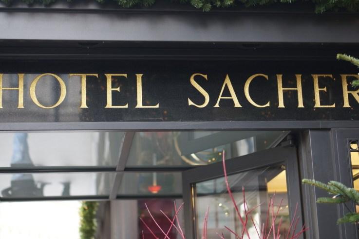 Sacher cafe vienna hotel sacher