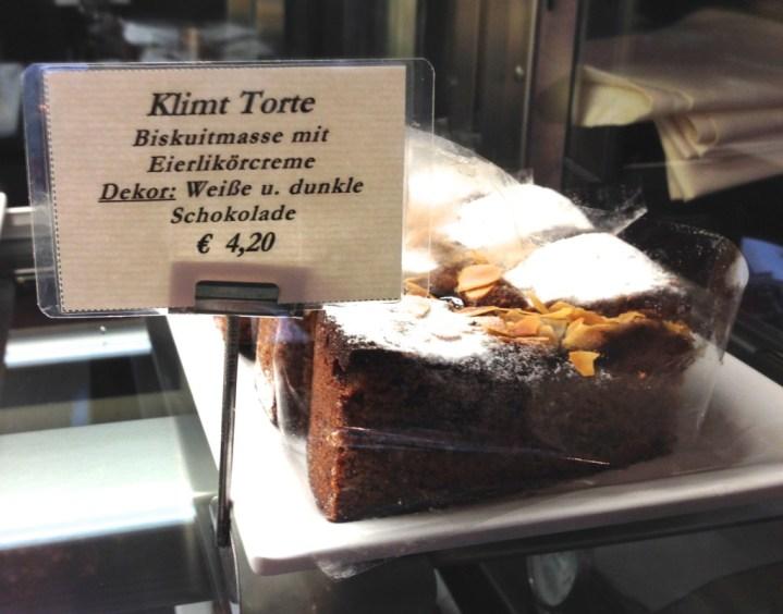 Klimt torte at Cafe Schwarzenberg, Vienna
