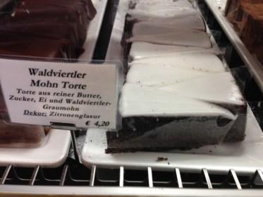 Mohn torte at Cafe Schwarzenberg, Vienna