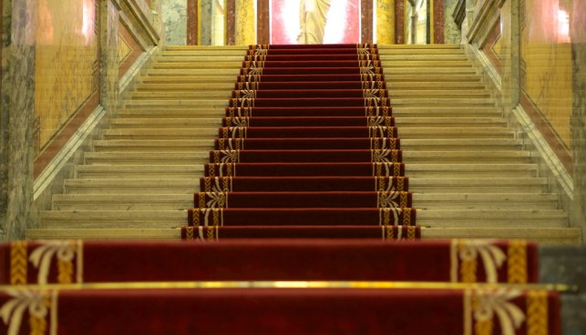 hotel imperial lobby vienna stairs elegant