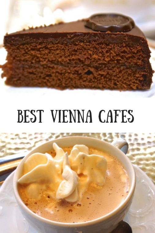 Best Cafes in Vienna Austria Cake Coffee