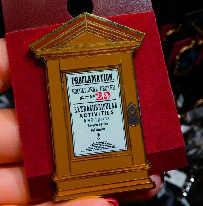 Harry Potter proclamation 2 magnet souvenir