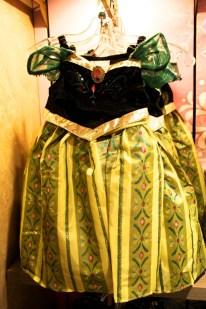 Anna Frozen costume dress children's girls disney world