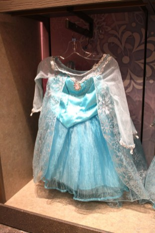 Elsa dress costume Frozen movie disney world souvenir