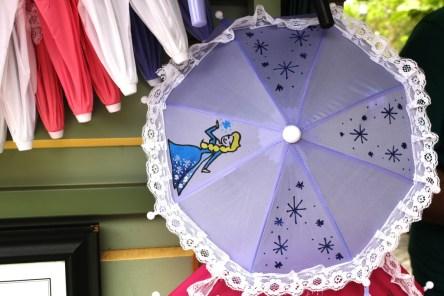 Frozen Elsa umbrella merchandise